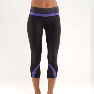 Lululemon athletica crop leggings pantd size 10